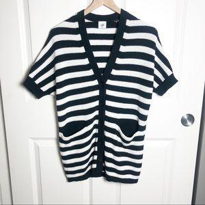 Cabi Whistle Stripe Cardigan #5289 XXS